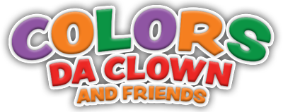 colors da clown logo